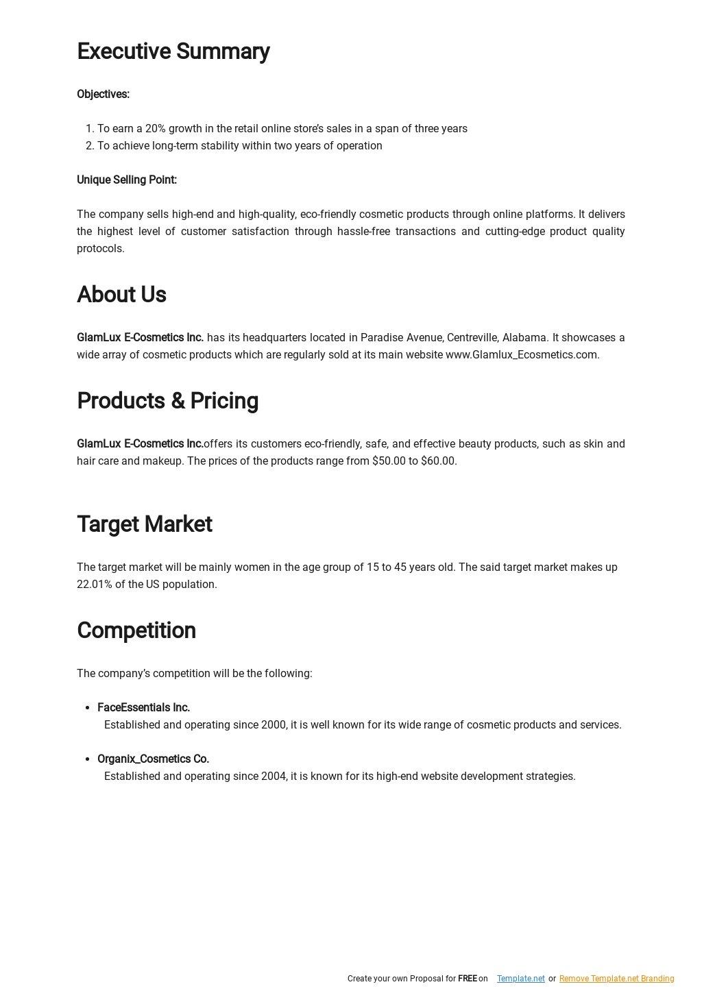 Retail Online Store Business Plan Template 1.jpe