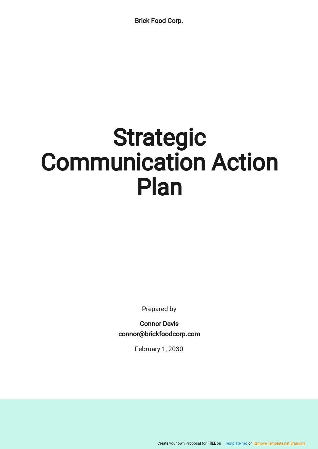 Strategic Communication Action Plan Template.jpe