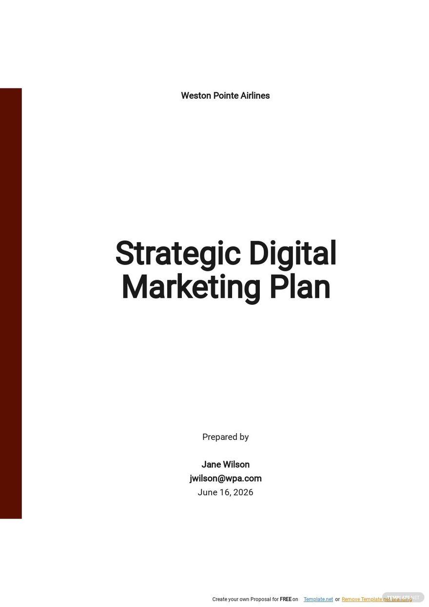 Strategic Digital Marketing Plan Template.jpe