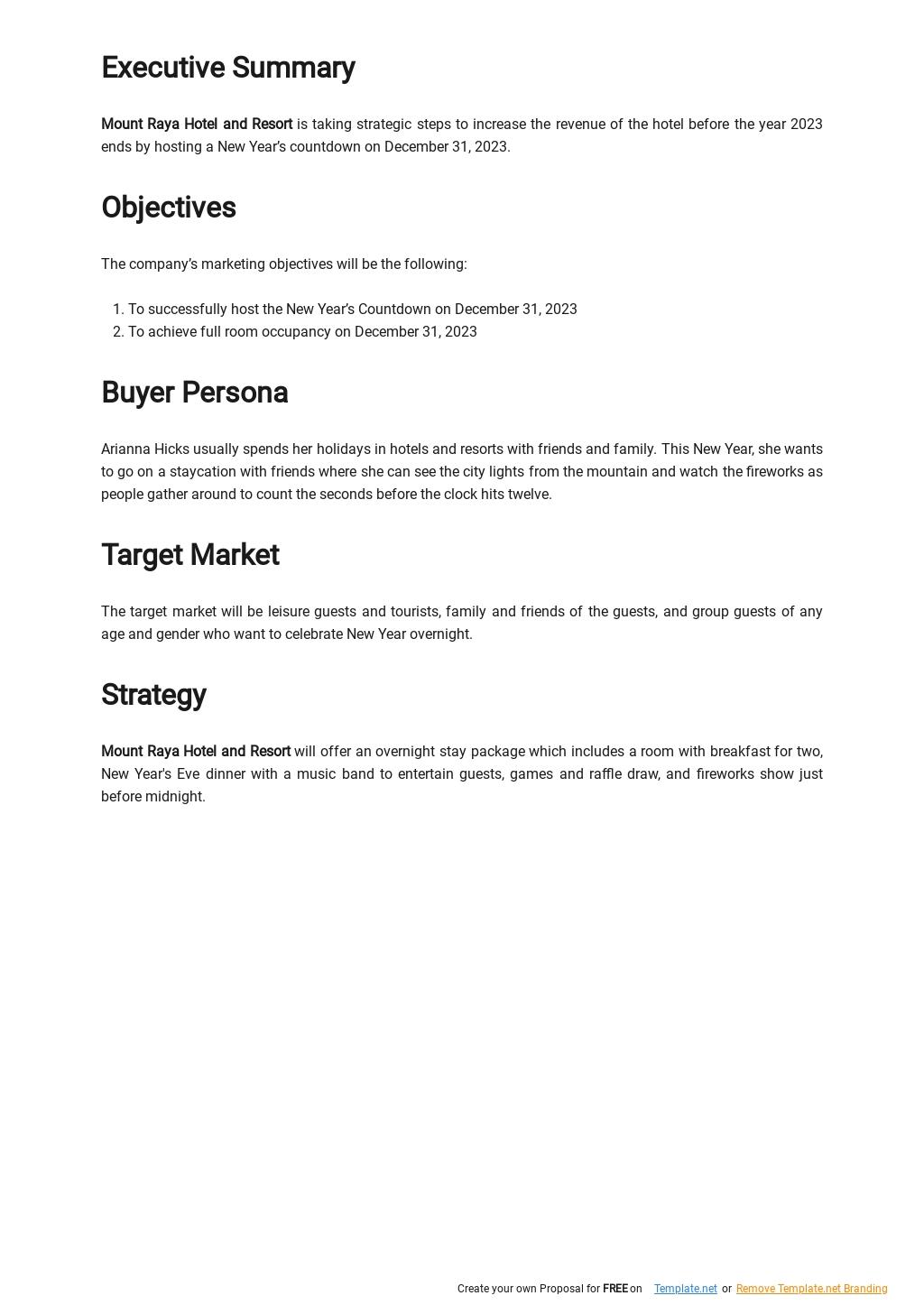 Free Strategic Goals Marketing Plan Template 1.jpe