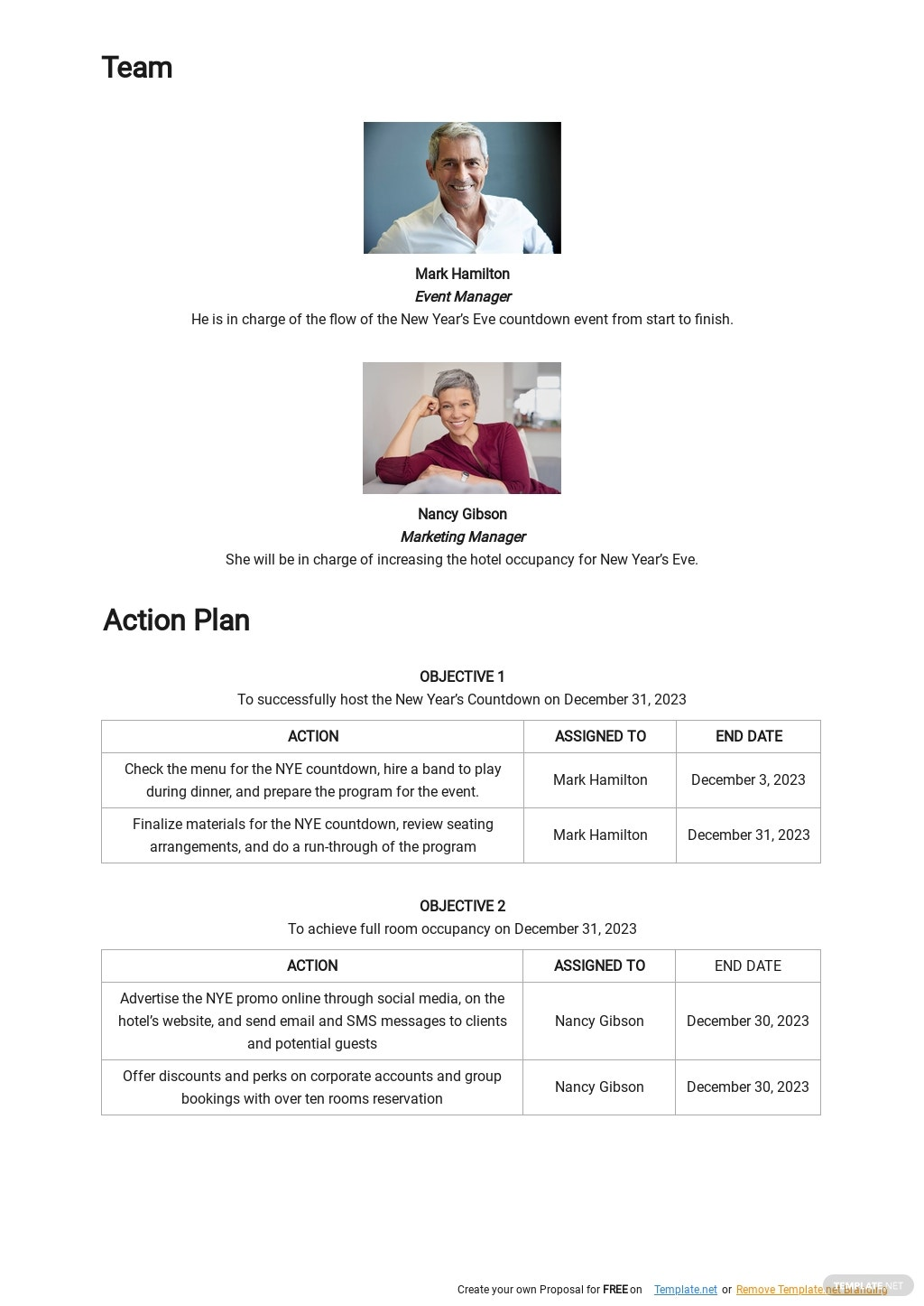 Free Strategic Goals Marketing Plan Template 2.jpe