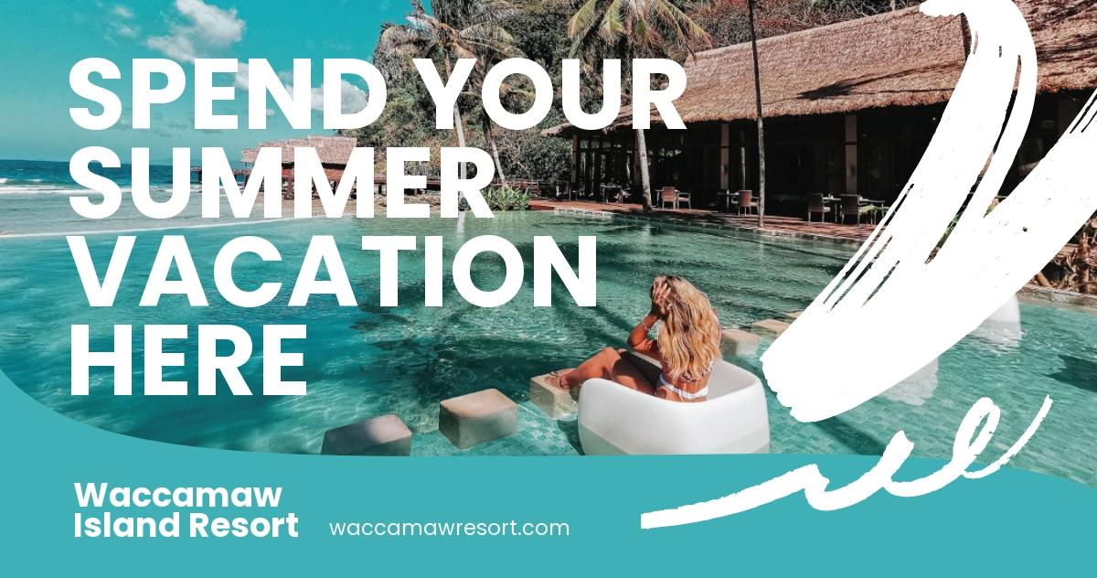 Summer Vacation Facebook Post Template.jpe