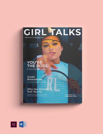 Minimalist Lifestyle Magazine Template