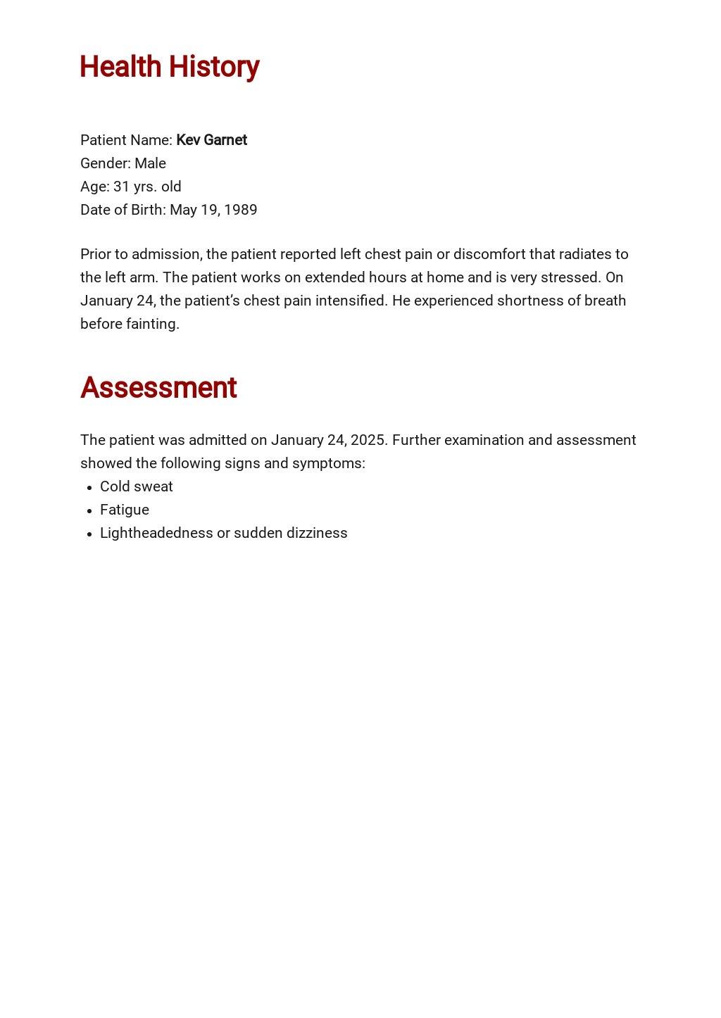 Free Printable Nursing care plan Template 1.jpe