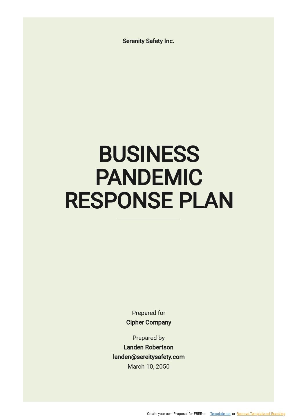 Business Pandemic Response Plan Template.jpe