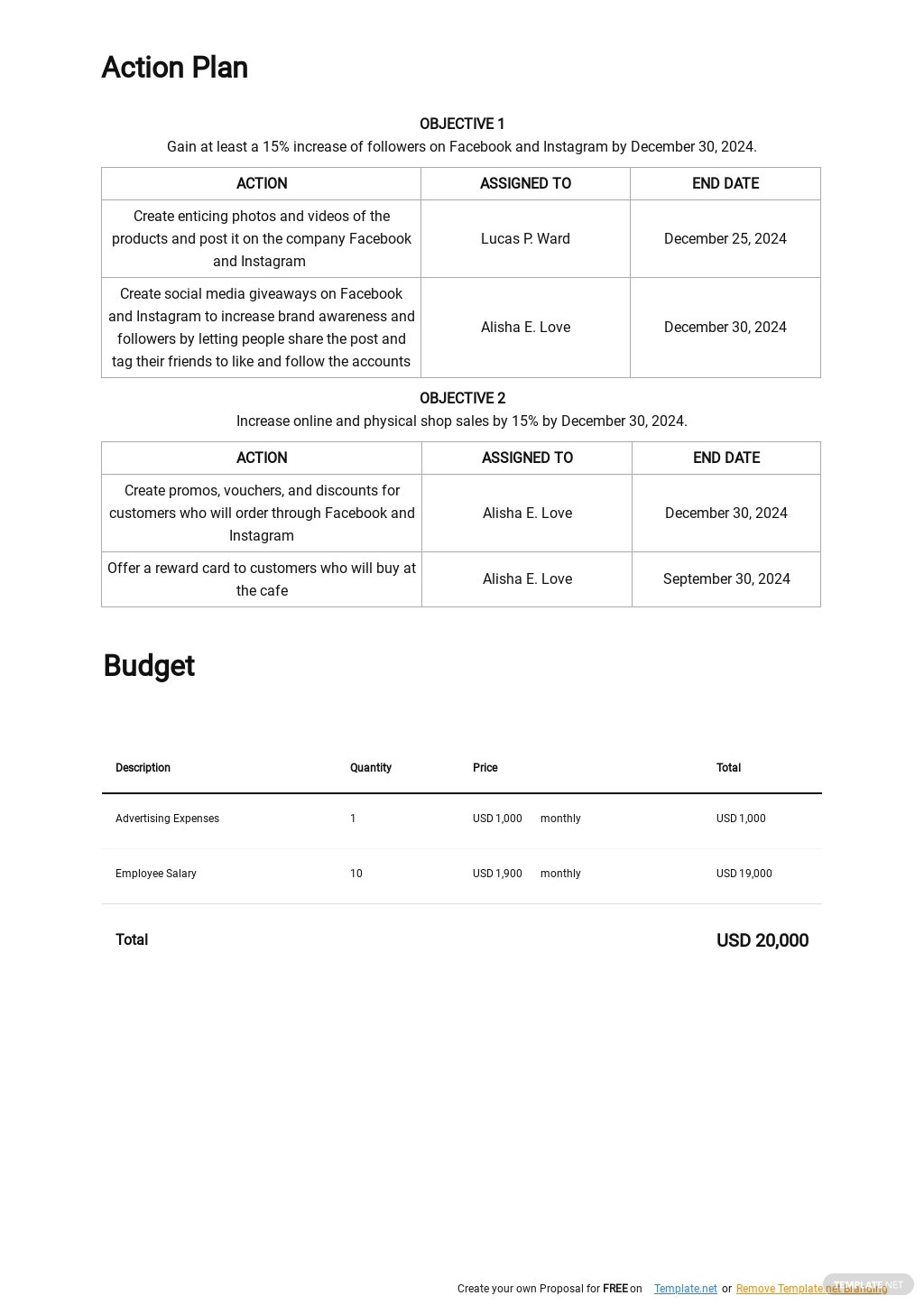 Simple Digital Marketing Plan Template 3.jpe