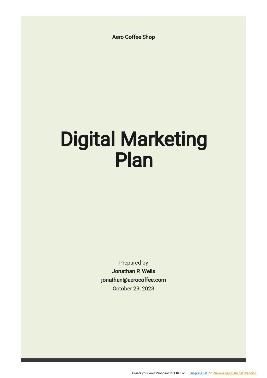 Simple Digital Marketing Plan Template.jpe