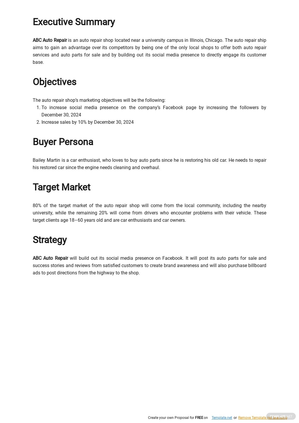 Simple Marketing Plan Template for Small Business 1.jpe
