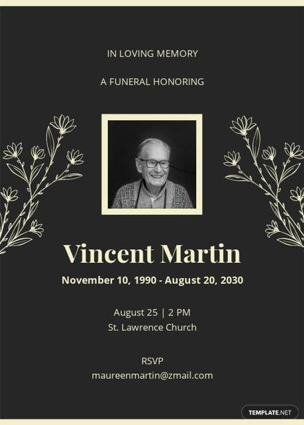 Sample Digital Funeral Invitation Template.jpe
