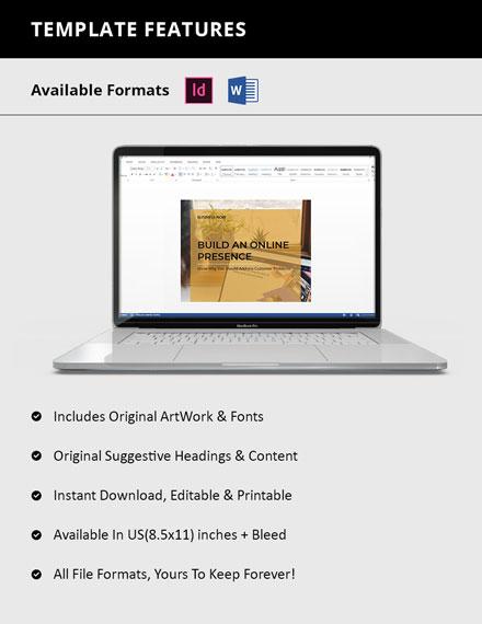 Editable Creative Small Business Magazine