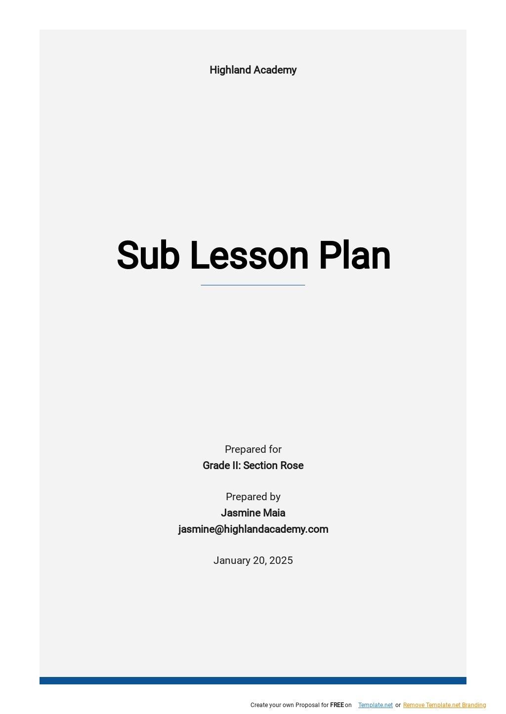 Free Sub Lesson Plan Template.jpe