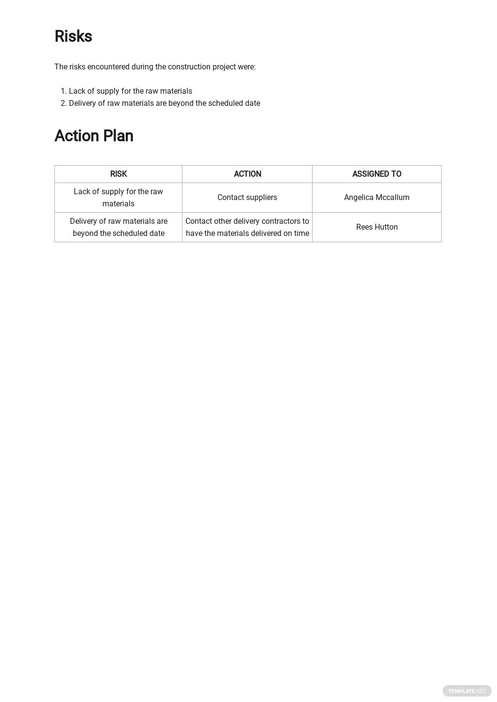 Free Daily Material Control Report Template 3.jpe
