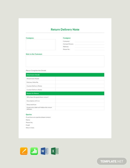 standard shipping note template - free blank delivery note template download 53 notes in
