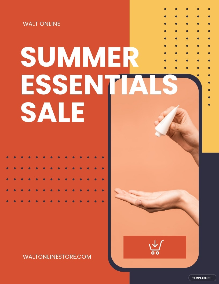 Online Store Sale Flyer Template.jpe