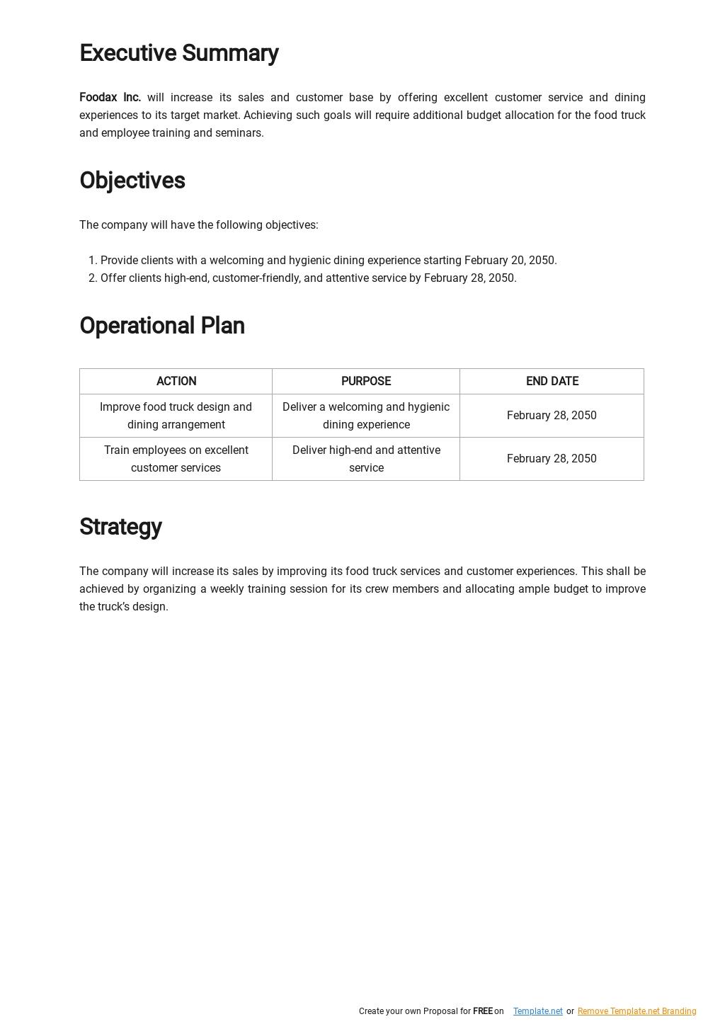 Free Food Truck Service Plan Template 1.jpe