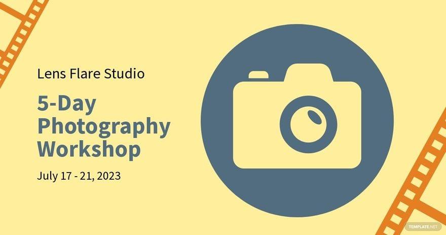 Workshop Advertisement Facebook Post Template.jpe