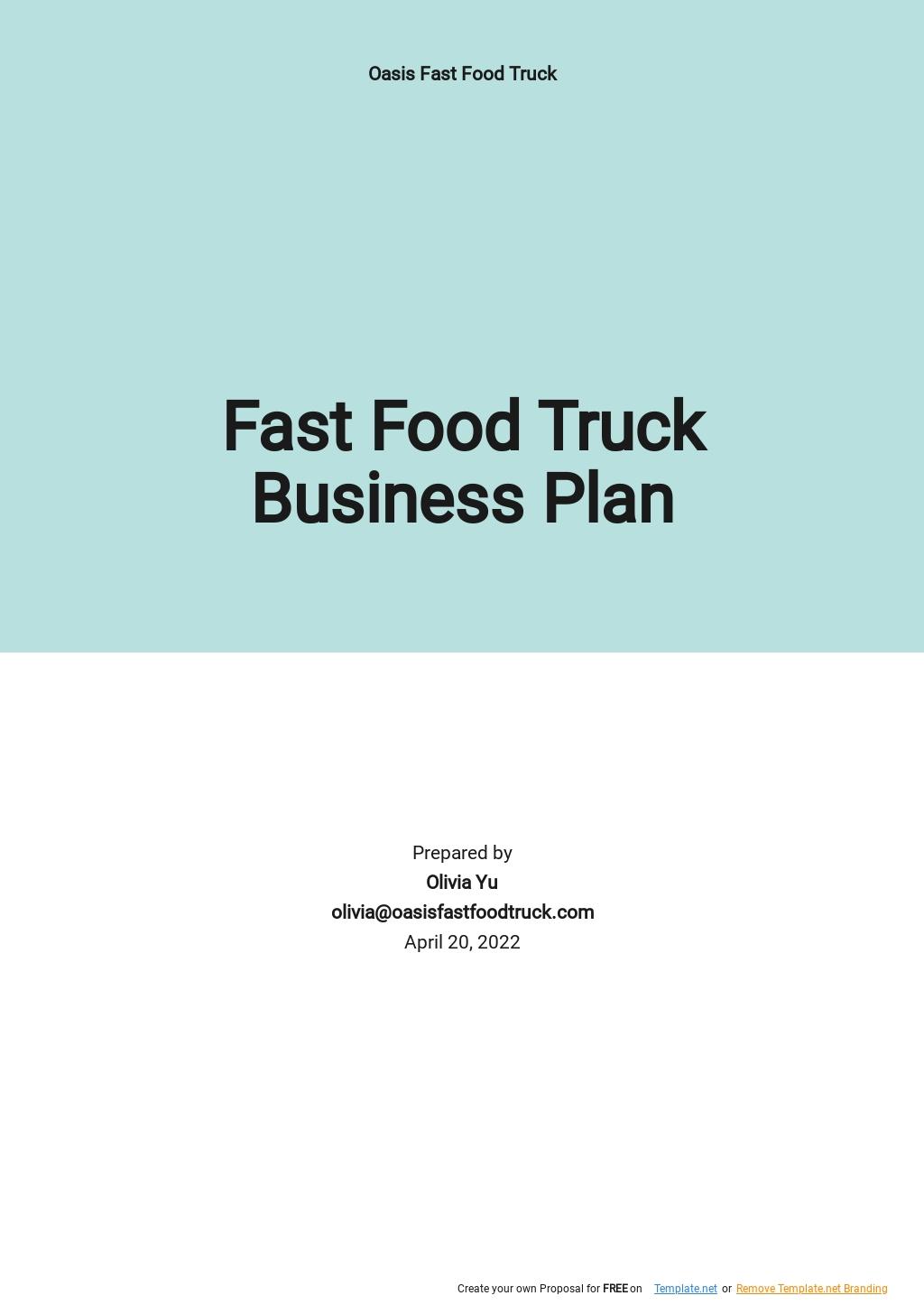 Fast Food Truck Business Plan Sample.jpe