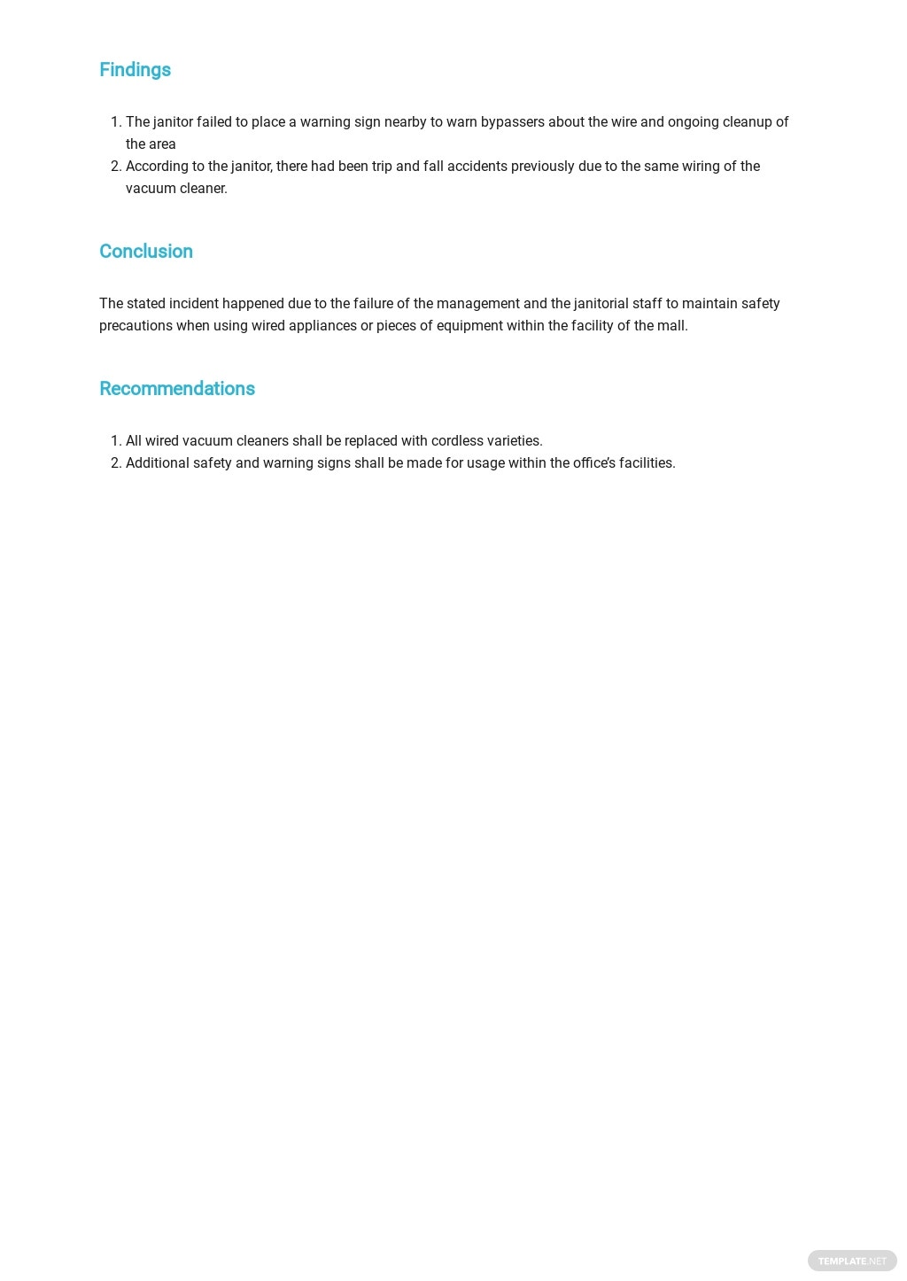 Free Individual Incident Report Form Template 1.jpe