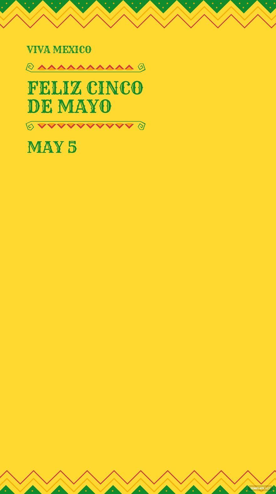 Cinco De Mayo Ad Snapchat Geofilter Template.jpe
