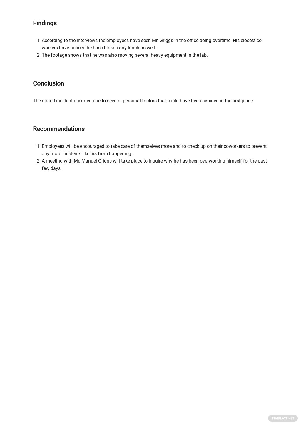 Free Injury Incident Report Form Template 2.jpe
