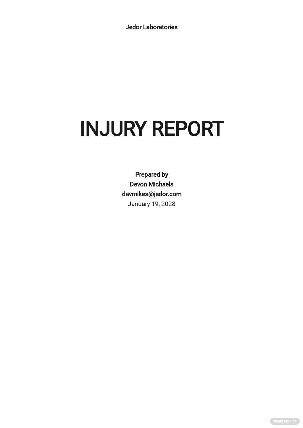Free Injury Incident Report Form Template.jpe
