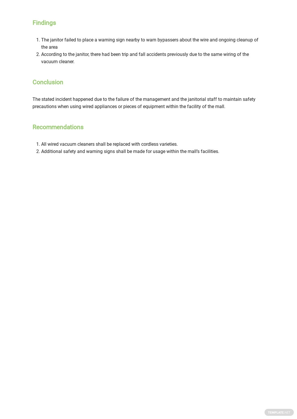 Free Personal Incident Report Form Template 1.jpe