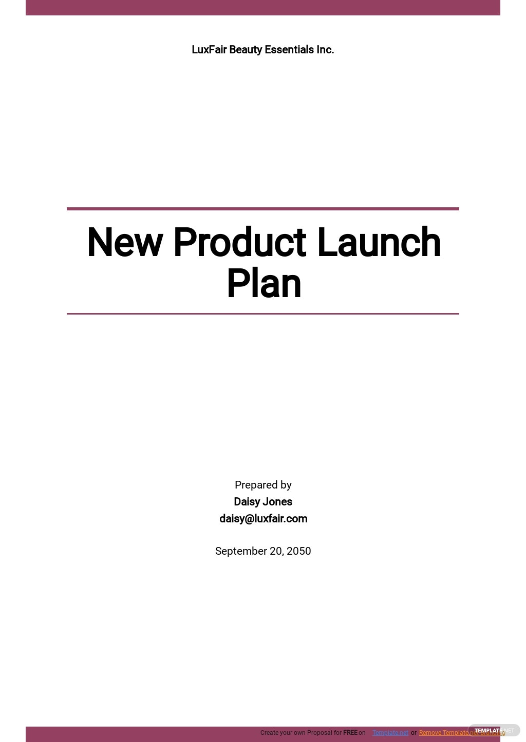 New Product Launch Plan Template.jpe