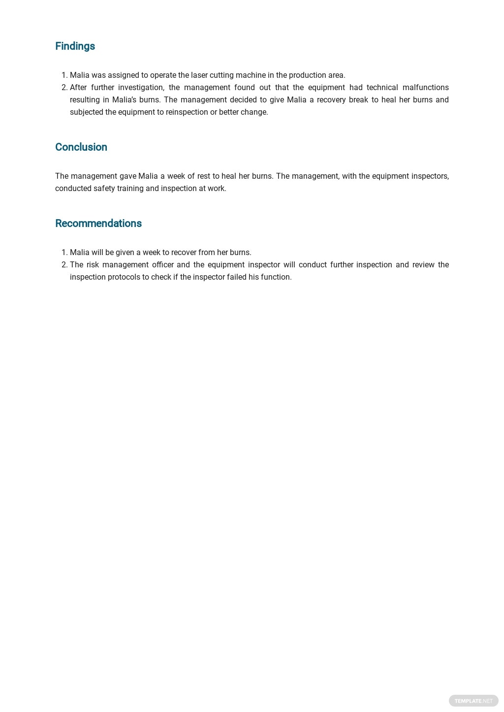 Free Accident Report Form template 2.jpe