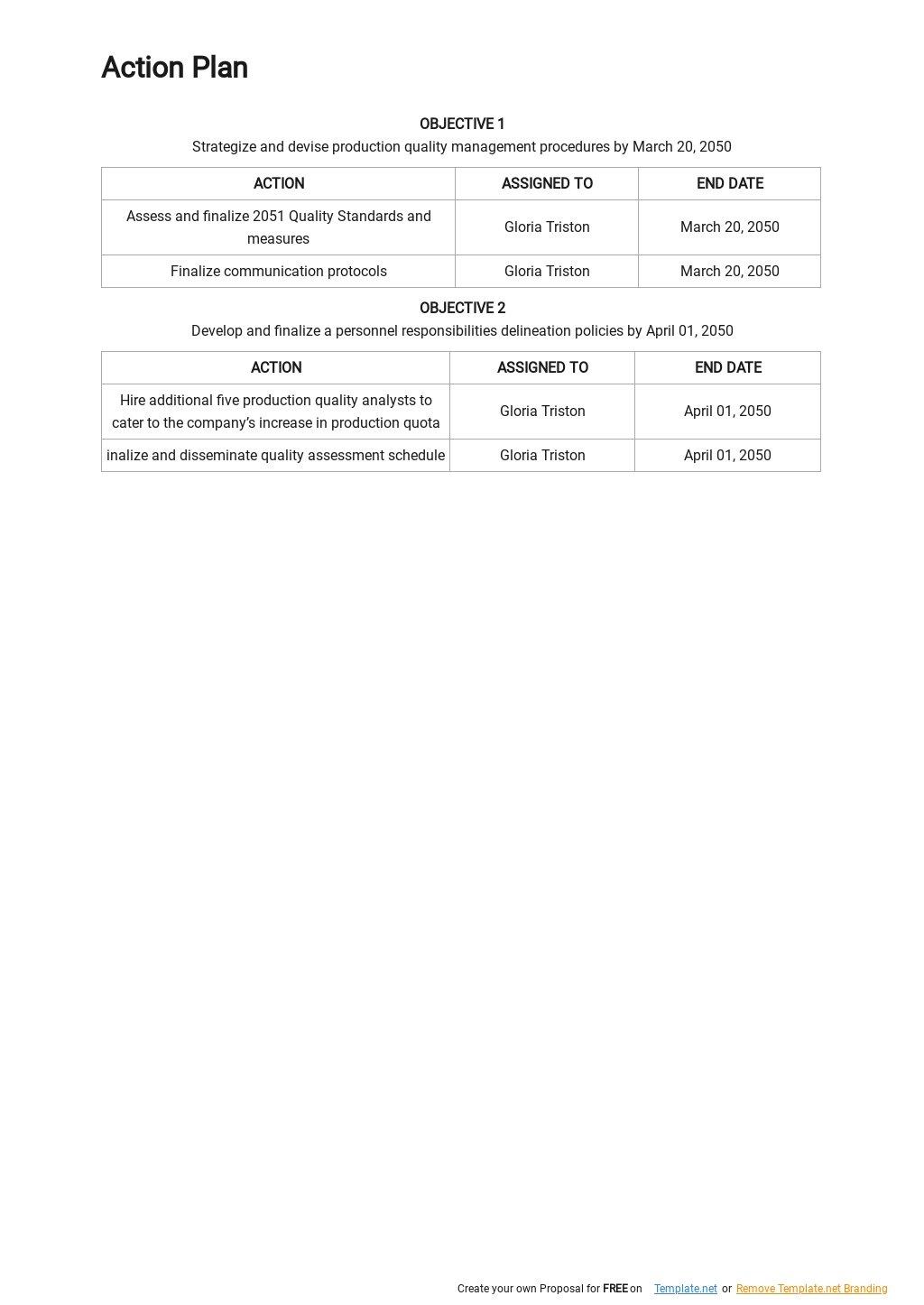 Sample Quality Management Plan Template 2.jpe
