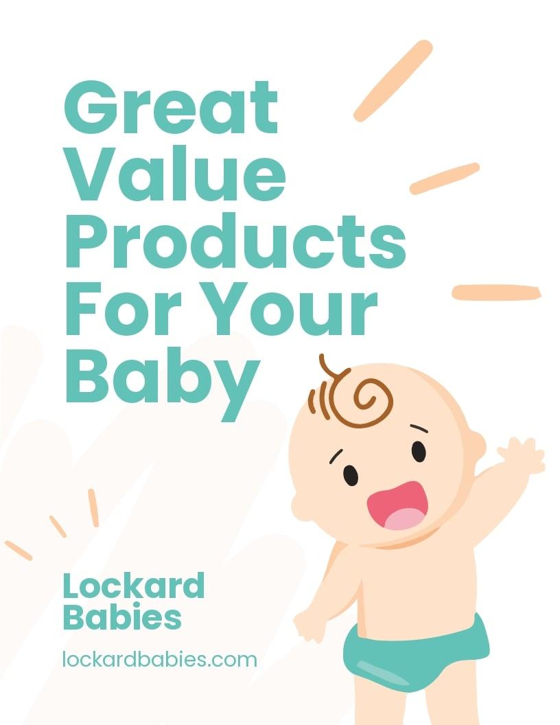 Online Baby Store Flyer Template.jpe