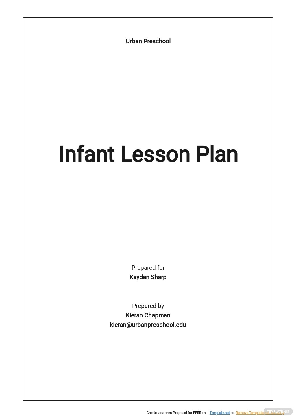 Free Blank Infant Lesson Plan Template.jpe