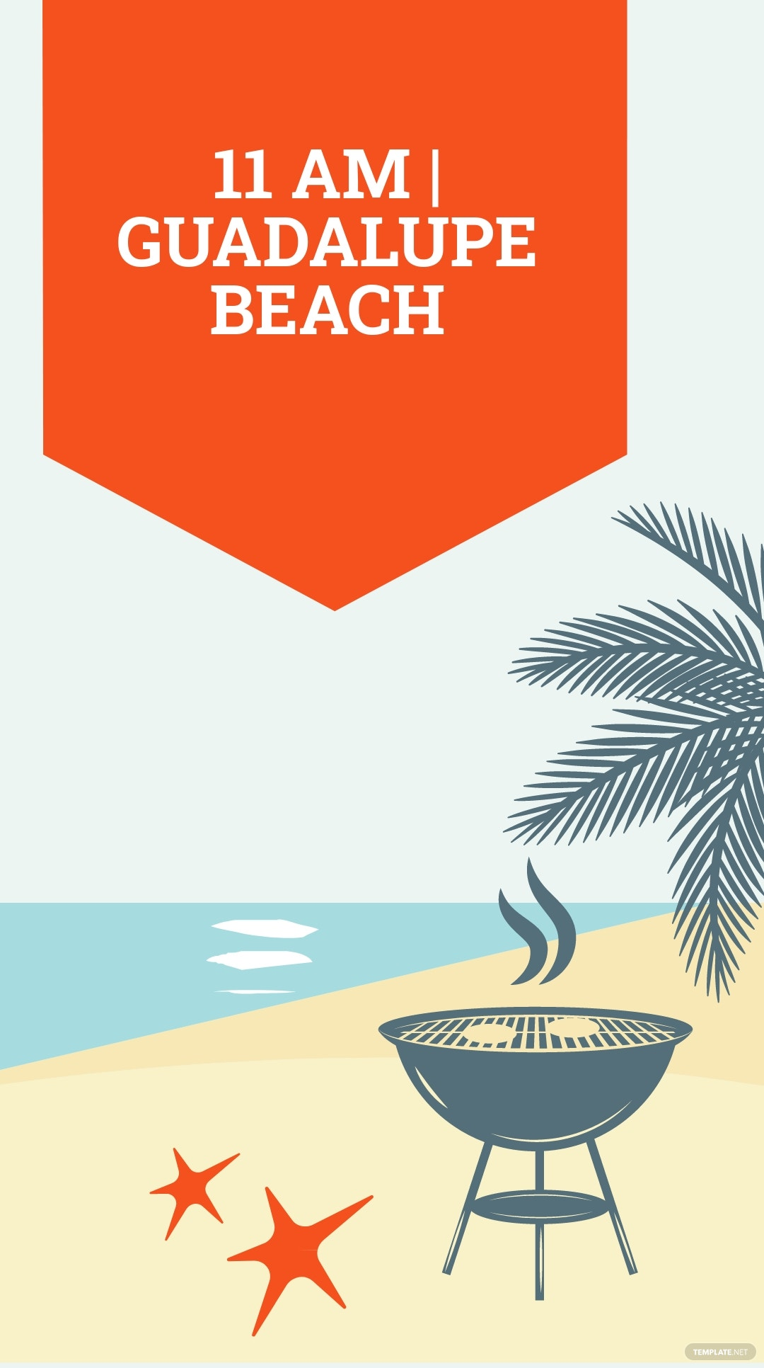 Bbq Beach Party Instagram Story Template 1.jpe