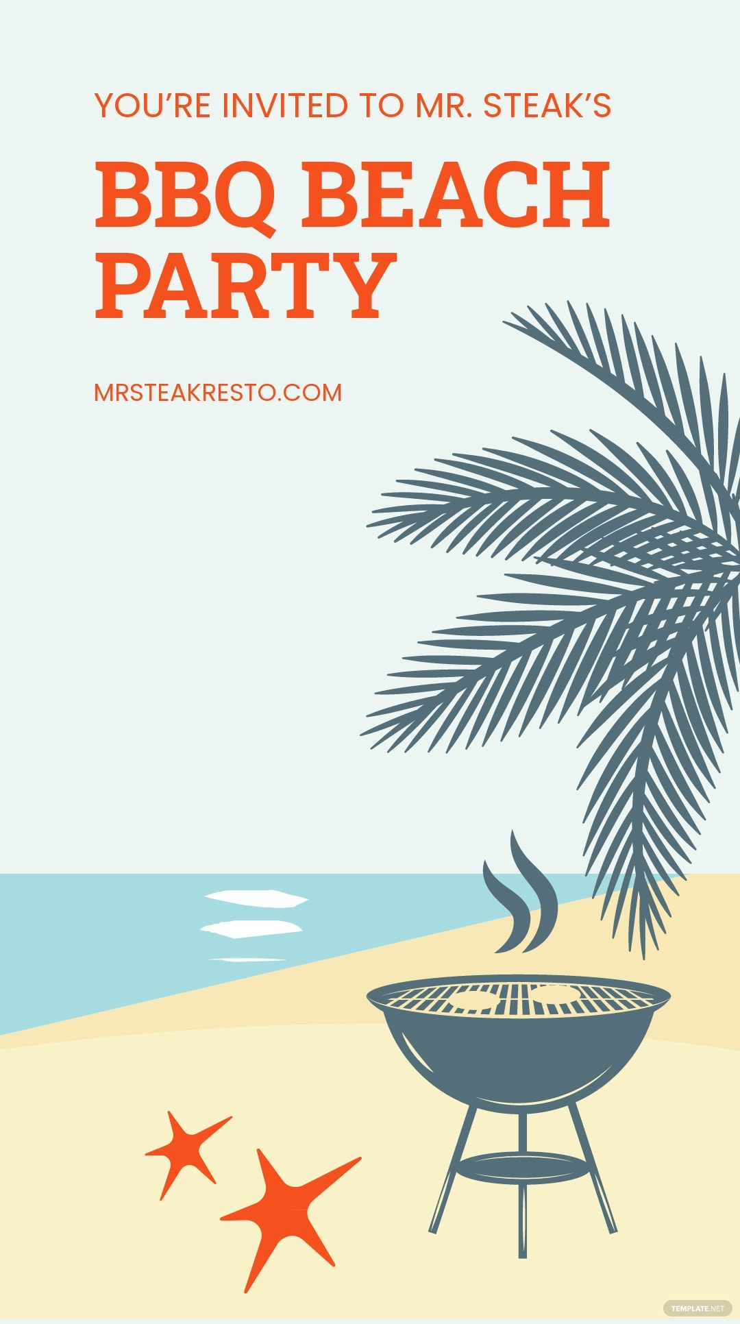 Bbq Beach Party Instagram Story Template.jpe