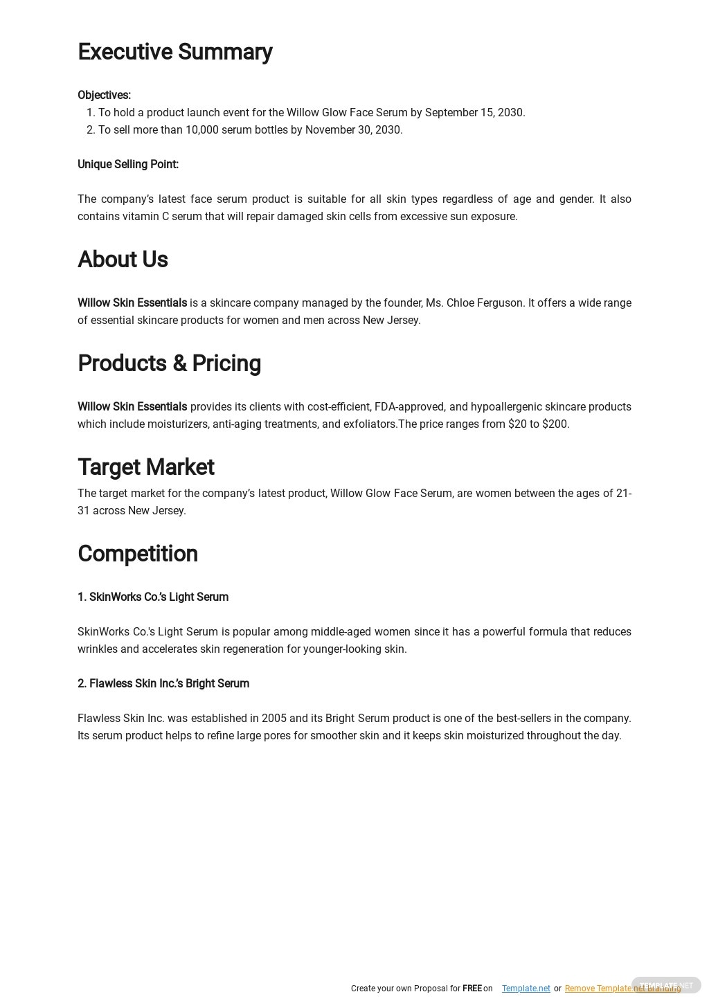 Product Launch Business Plan Template 1.jpe