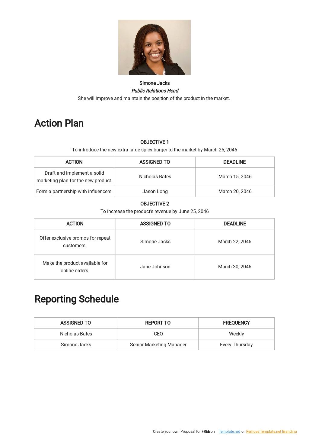 Product Launch Communication Plan Template 2.jpe