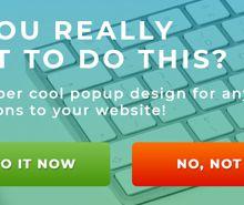 Free Website Modal Pop-up Notification Template