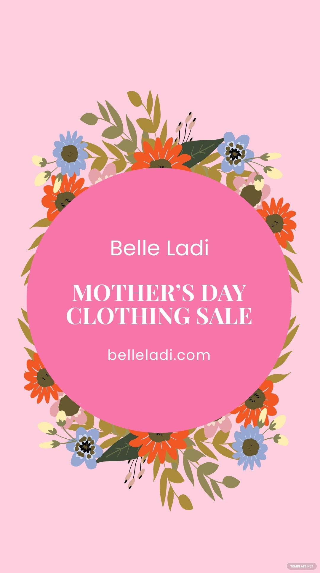 FREE Mother's Day Sale Instagram Story Template