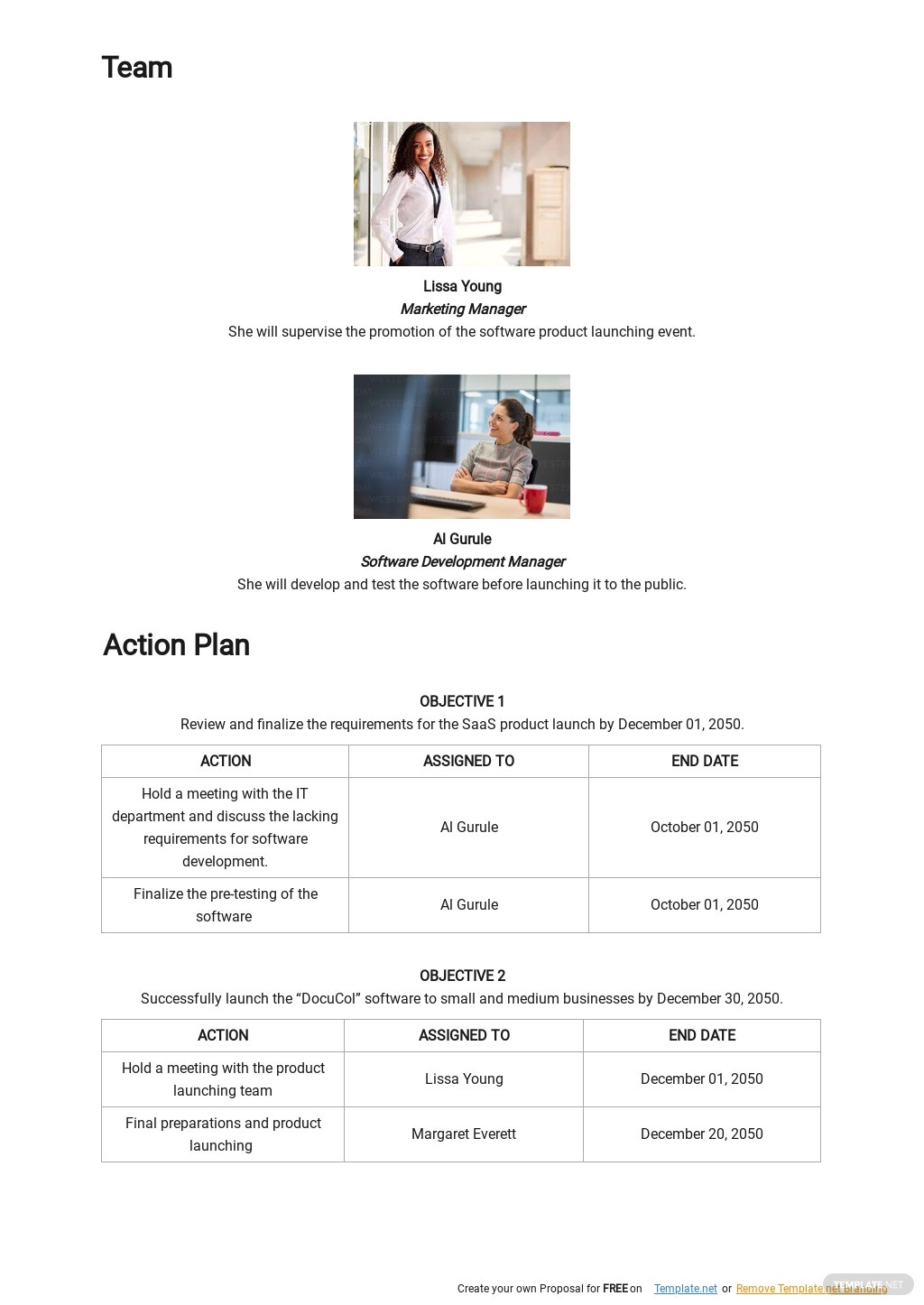 SaaS Product Launch Plan Template 2.jpe