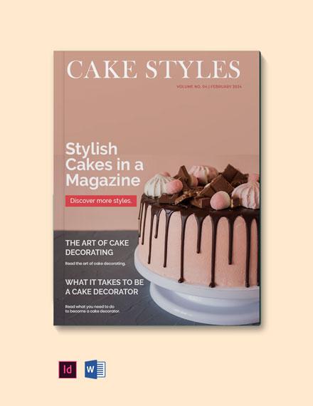 Magazine Style Portfolio Template