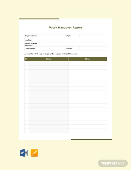 226 free report templates download ready made template net