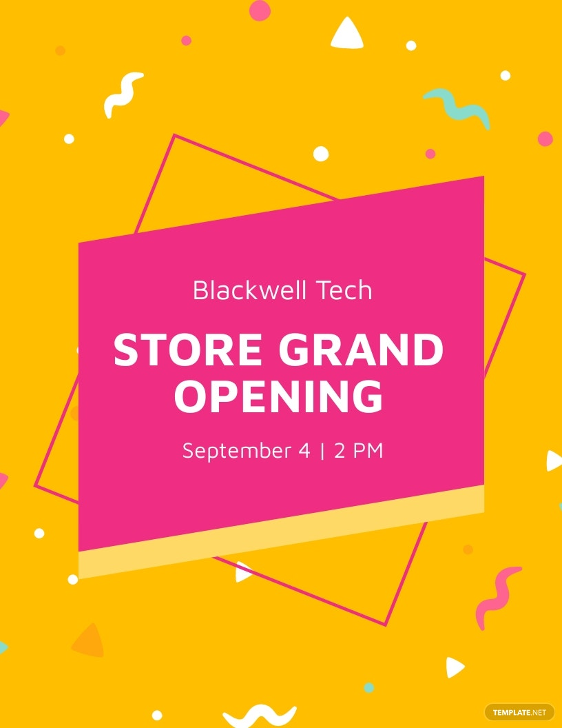Store Grand Opening Flyer Template.jpe