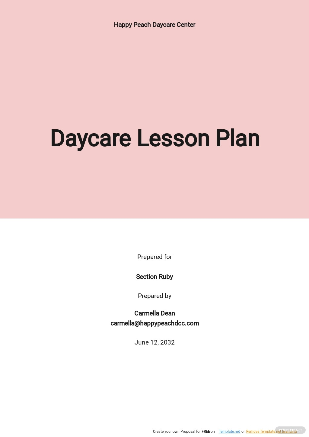 Free Blank Daycare Lesson Plan Template.jpe
