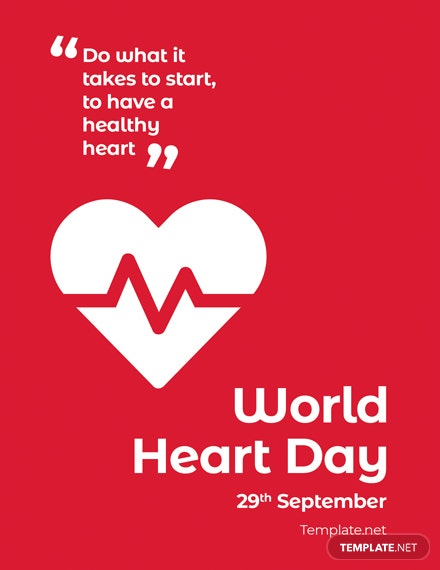 World Heart Day Greeting Card