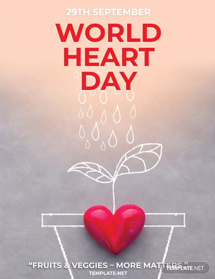 Free International Heart Day Greeting Card