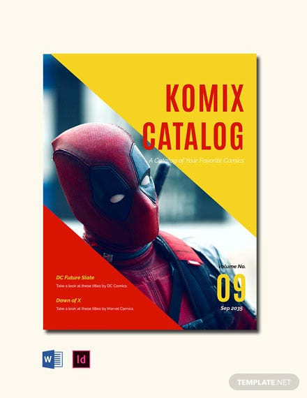 Free Comic Book  Template
