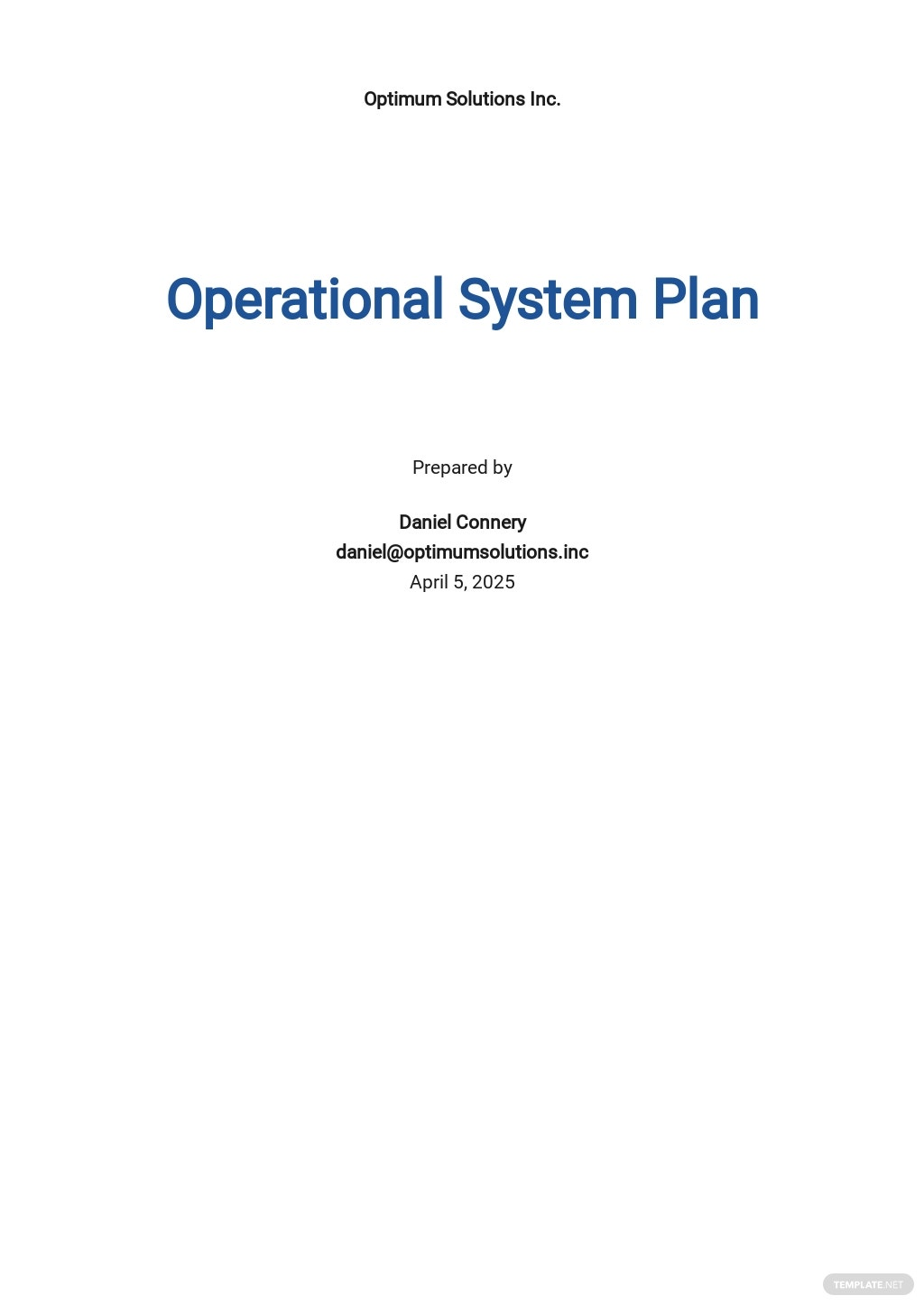 Free Operational System Plan Template.jpe