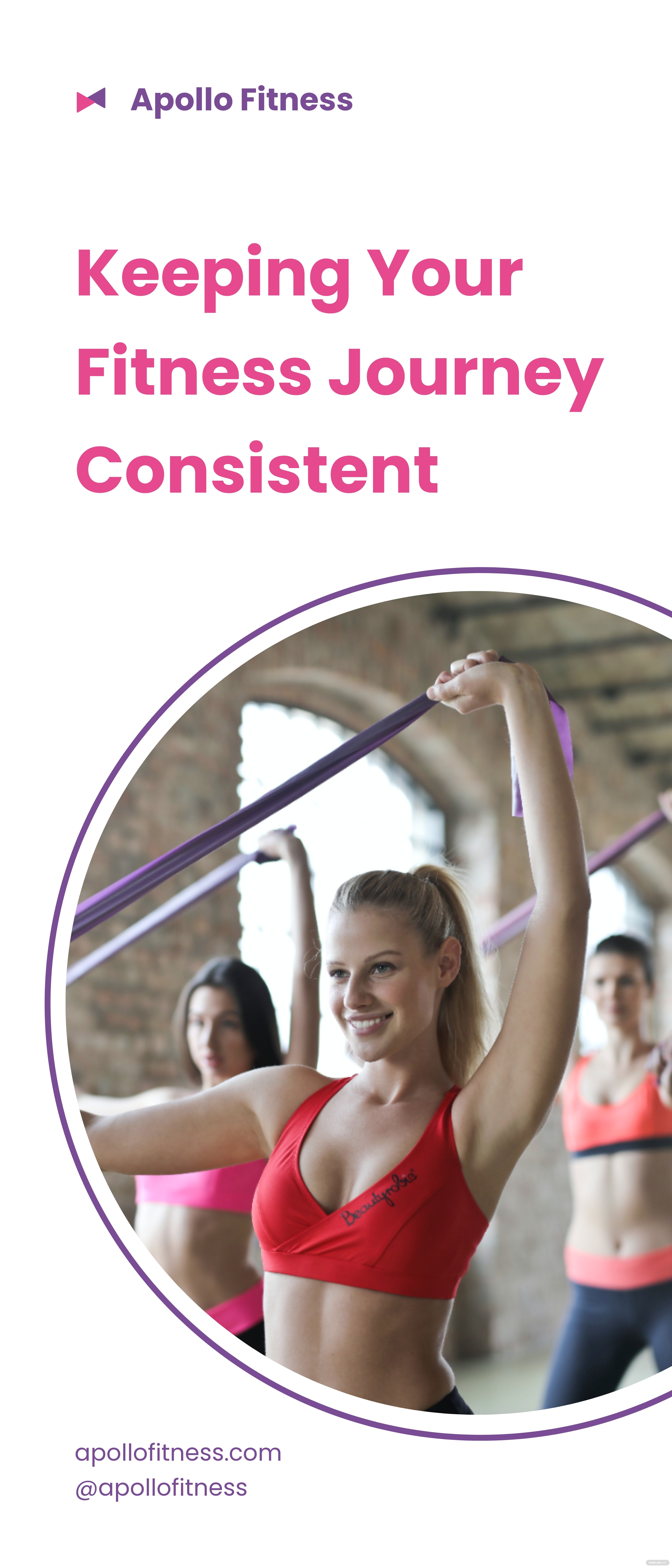 Creative Fitness Roll Up Banner Template.jpe