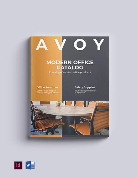 Modern Office Catalog Template