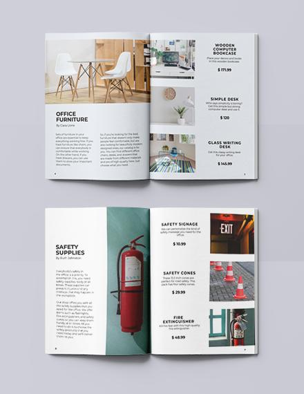 Sample Modern Office Catalog