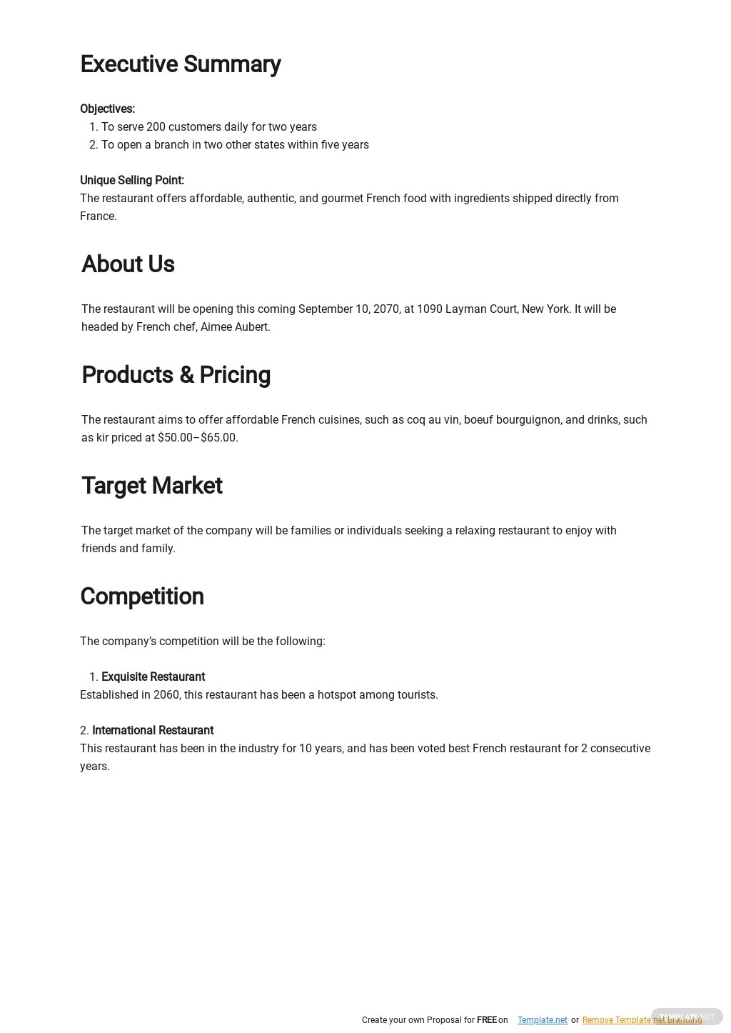 Simple 5 Year Business Plan Template  1.jpe